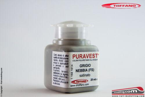 s DR TOFFANO FS PURAVEST 116816 Colore poliuretanico all/'acqua GRIGIO NEBBIA