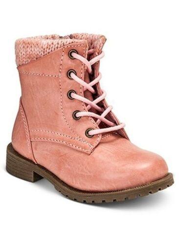 New Girls Toddler Cherokee Diem Sweater Cuff Boots Style 093015947 Pink 86N hr