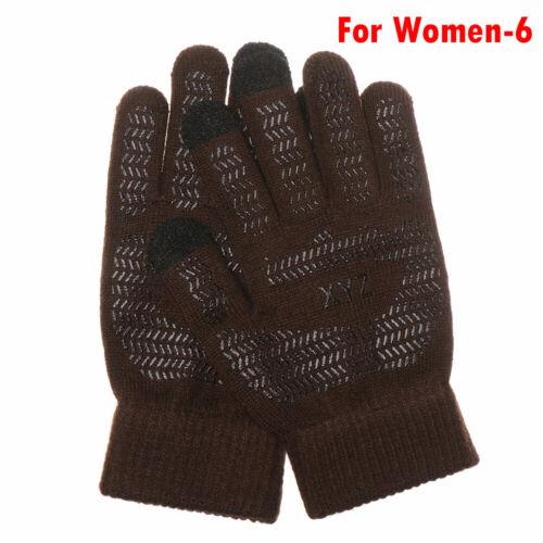 Screen Handschuhe Strittige Wolle Volle Fingermitten Sport Fahrradhandschuhe