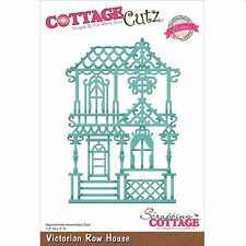 COTTAGE CUTZ ELITES VICTORIAN ROW HOUSE CUTTING DIE - NEW 2015 CCE-260
