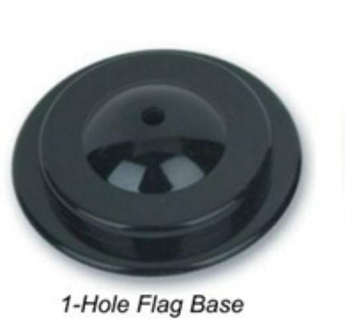 Wholesale Lot 12 One Hole Black Base For Desk Set Table Stick Flags