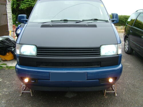 For VW Bus t4 FRONT LIP SPOILER FRONT BUMPER Front Lip Front Approach Wide Deep