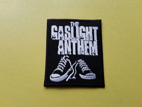 METAL MUSIC SEW ON /& IRON ON PATCH:- THE GASLIGHT ANTHEM POP ROCK PUNK