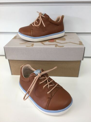k800305-003 Camper  Pursuit Infant Boys Casual Shoes In Sienna Tan Leather