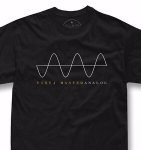 Dj-music-t-shirt-Vinyl-disc-turntable-technics-1200-fans-ANALOG-SIGNAL-tshirt