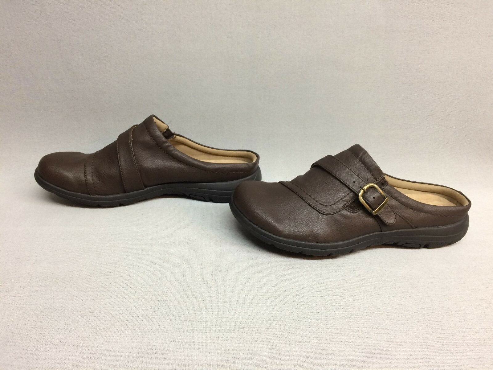 Wear.Ever. by Baretraps Womens Eugene Clogs Dark Brown, Size 8.5M US