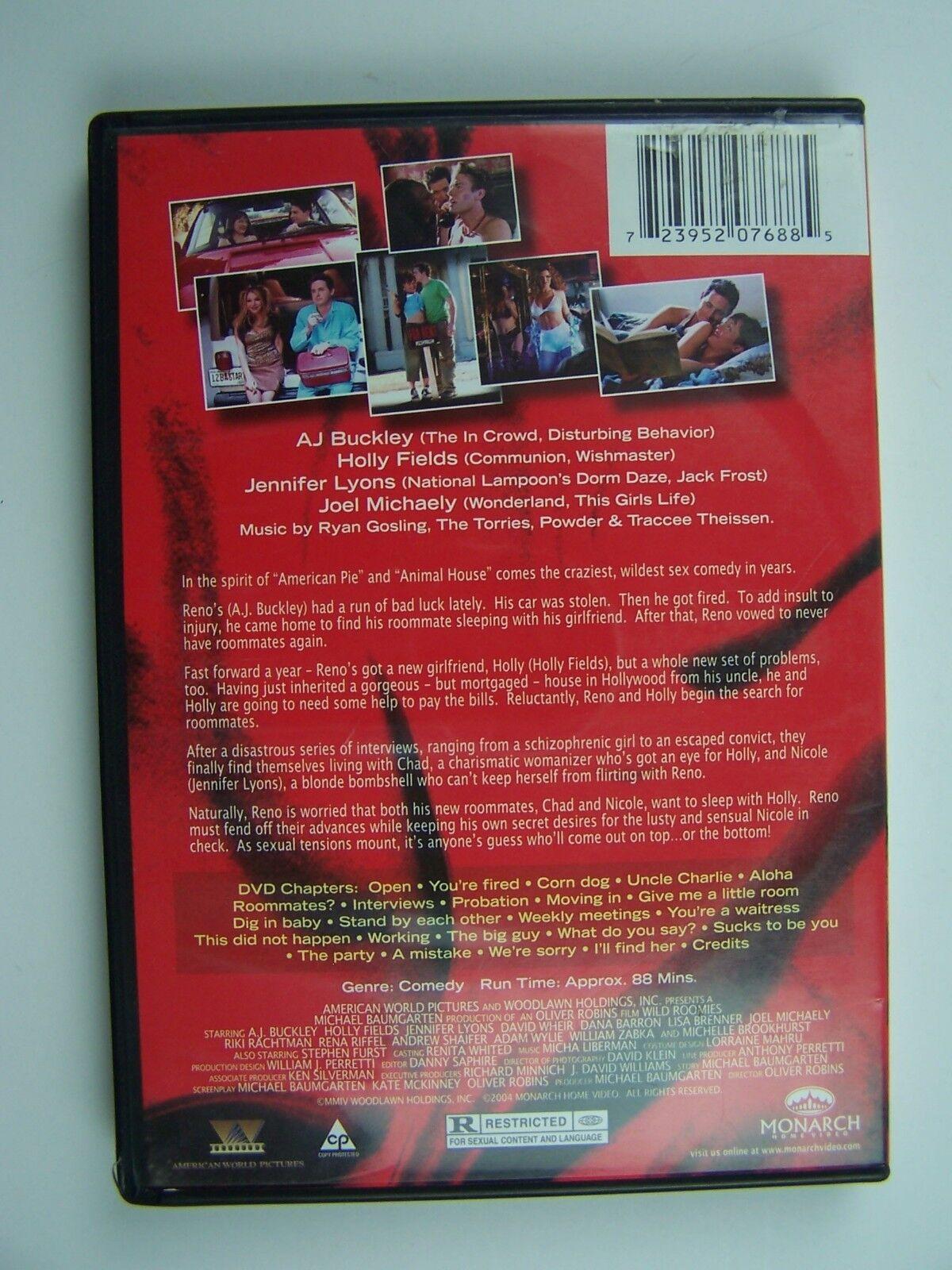 Wild Roomies DVD A.J. Buckley, Holly Fields, Jennifer L