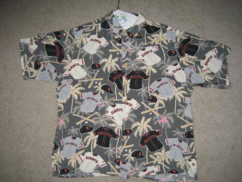 Francisco Hawaiian 'uniform Reyn San Giants Shirt Legacy' SzLarge Spooner shtQrCd