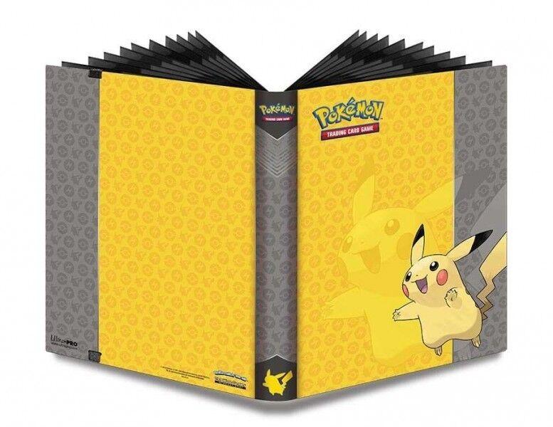 Album pokemon pro binder portfolios ultra pro pikachu 360 karten 843724