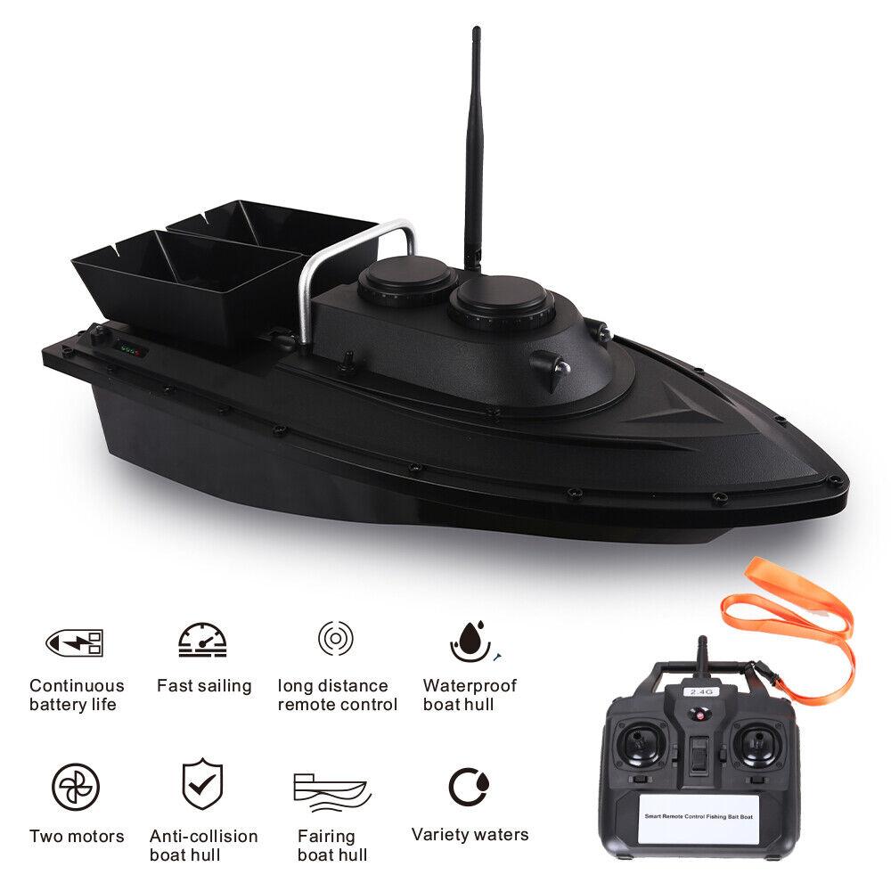 D11 RC Boot Fish Finder Fischköder Boot 1.5kg Beladung 500m Fernbedienung G9I4