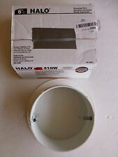"""Halo 410W 6"""" White Trim with White Coiled Baffle NEW OPEN PACKAGE"""