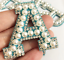 miniature 13 - Pearl Letter Patches Rhinestone Sparkle Alphabet Embroidery Sew on Iron on A-Z
