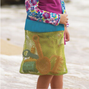1* Portable Sand Away Carry All Kids Toys Mesh Tote Large Beach Storage Bag 1*