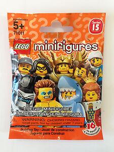 PICK FIGURE SEALED BAGS 71011 LEGO MINIFIGURES SERIES 15