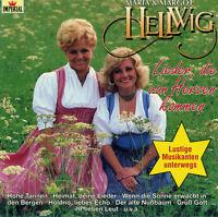 MARIA & MARGOT HELLWIG - LIEDER , DIE VON HERZEN KOMMEN - CD - NEU