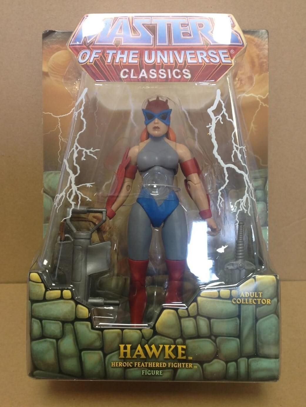 Hawke  -  He-Man Masters of the universe classics MOTUC Super 7 Club Greyskull