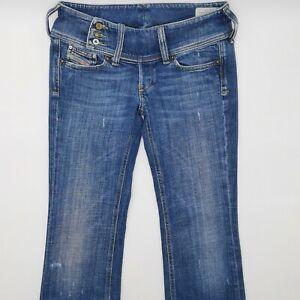 Diesel Cherock Wash 008CK W28 L34 blau Damen Designer Denim Jeans Hose Retro VTG