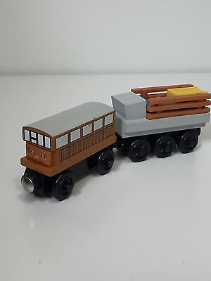 Thomas & Friends Wooden Railway Train CATHERINE + CARGO TRAILER
