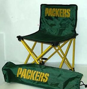 Image Is Loading NFL Green Bay Packers Kids Foldable Tailgate Chair