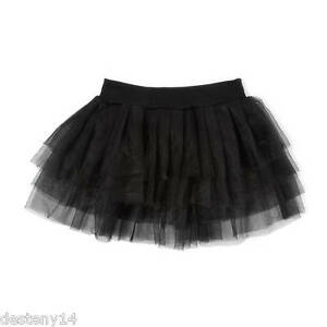 736cef4339 Claire's Junior Ladies Black Tutu Skirt Ballerina Dance Class Size S ...