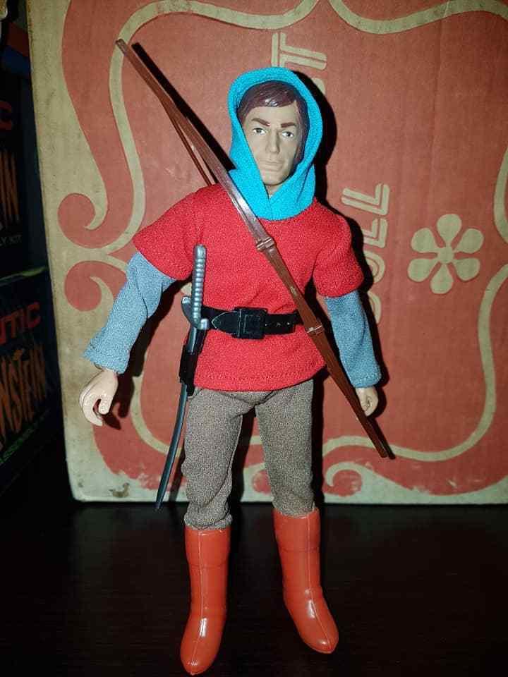 Mego Will SCochelet Vintage 1970's Acción Figura from Robin Hood súper Merry Men