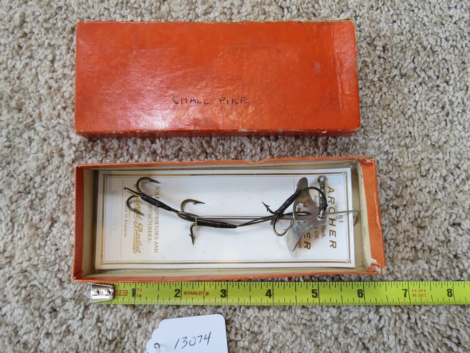 The Archer Spinner fishing lure for small Pike (lot 13074)