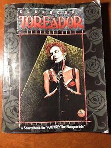 Clanbook-Toreadore-Vampire-The-Masquerade-White-Wolf-Game-Studio-Sourcebook-VG