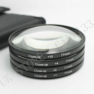 77-mm-Macro-Close-Up-Lentille-Kit-1-2-4-10-pour-DSLR-SLR-Appareil-Photo-Numerique-Lentille