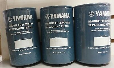 Yamaha 10-Micron Fuel//Water Separating Filter MAR-10MEL-00-00 MAR-FUELF-IL-TR