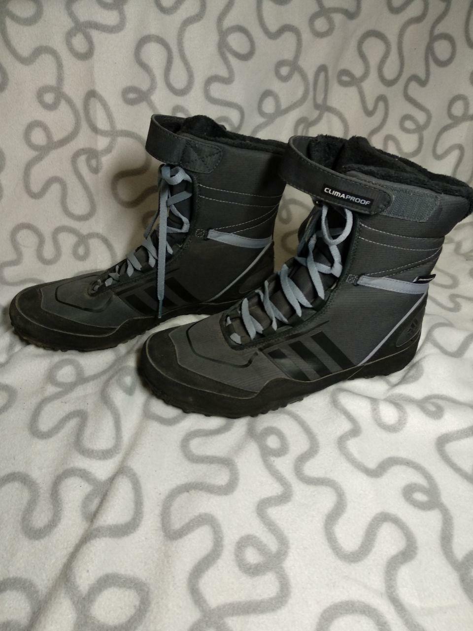 Adidas Mujer gris Primaloft Climaproof botas TALLA
