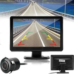 4-3-034-TFT-LCD-Pantalla-Coches-Retrovisor-Sistema-Monitor-Backup-revertir-camara