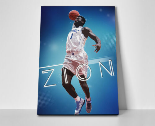 Zion Williamson Flight Poster or Canvas