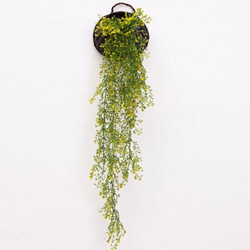 Fälschung Künstliche Pflanze Seide Blume Hängen Dekor Restaurants Anzeige