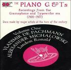 The Piano G & T's, Vol. 1: Recordings from the Grammophone Typewriter Era (CD, Nov-1995, APR (Appian))