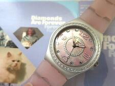 JAMES BOND 007 Swatch - Diamond Are Forever  - YLS1016 mit Schuber
