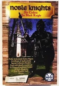 BRAND-NEW-MARX-REISSUE-NOBLE-KNIGHTS-SIR-CEDRIC-THE-BLACK-KNIGHT