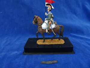 Cavalier Empire Napoleonien - Ancien / Old Plastique Plastic Rare ! Top