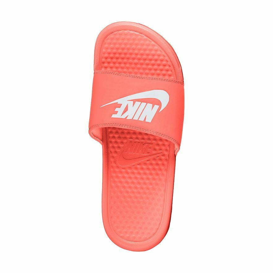 nike benassi jdi diapositive sandales - femmes bright o. mango t.n. - o. bright 37901a