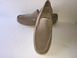 CLASSIC MOC, Beige Suede loafer, Mens