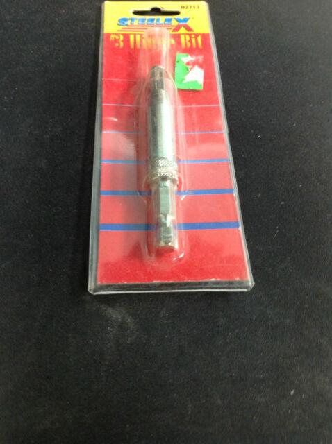 Steelex D2715 Hex Shank No.8,9,10 Hinge Bit