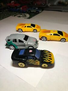 Transformers Robots In Disguise Spy Changers Rev Hot Shot & X-BRAWN Lot of 4