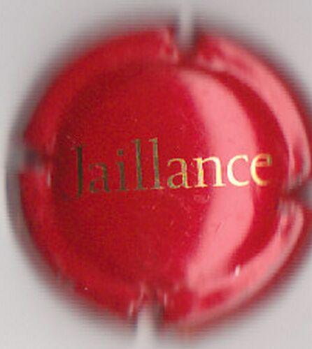 capsule de mousseux JAILLANCE rouge écriture or