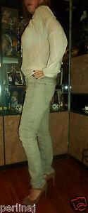 And Republic 289 31 Blegte Rock Jeans Orig Distressed Skinny Blå 34 ZHwnxFqp