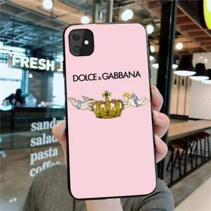 COQUE IPHONE SILICONE DOLCE D&G 6 IPHONE 7/8 X XS XR 11 12 PRO 12 MINI 12 MAX