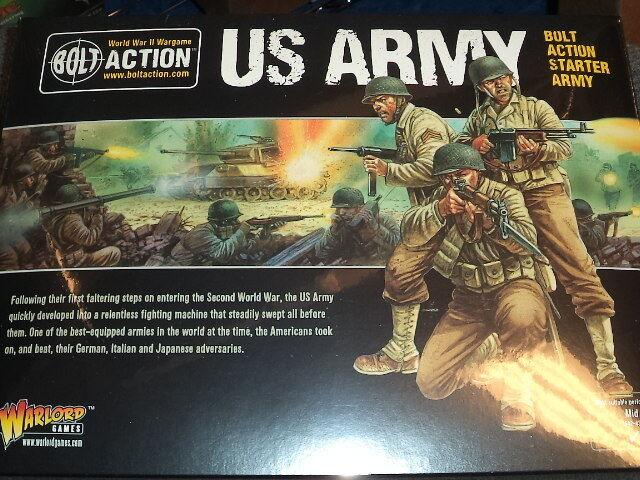 Ahorre 60% de descuento y envío rápido a todo el mundo. US Army Army Army Estrellater Set Perno acción 2nd segunda edición de la segunda guerra mundial Warlord Juegos Nuevo   Vuelta de 10 dias