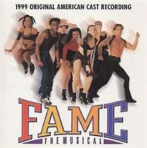 FAME-THE-MUSICAL-1999-ORIGINAL-AMERICAN-CAST-RECORDING-18-TRACK-CD