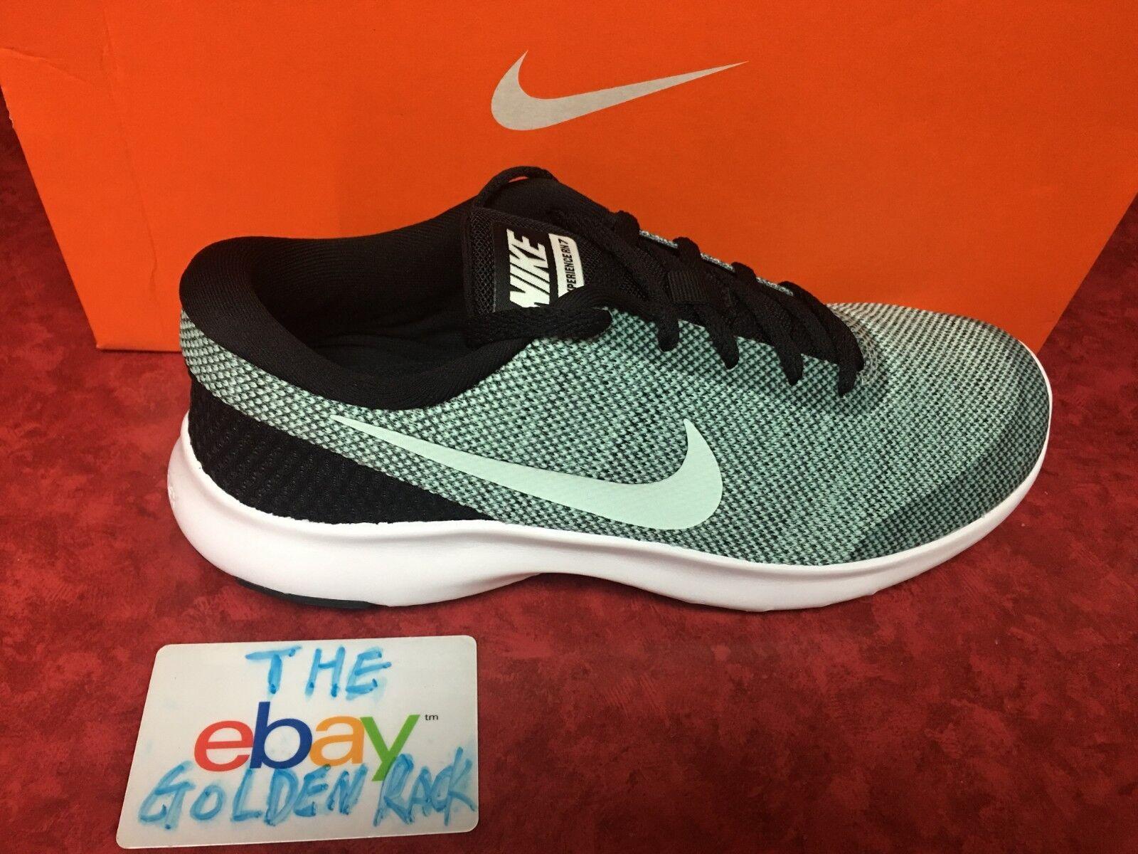Women's Nike Nike Nike Flex Experience RN 7 Running shoes 908996-003 Black  Igloo SZ 7.5-8 b08d65