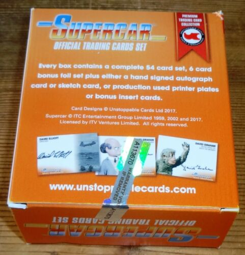 Fireball XL5 Joe 90 Gerry Anderson Collection Supercar Sets//Boxes Stingray