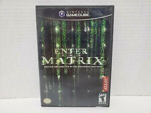 Nintendo-GameCube-Enter-the-Matrix-2003-w-Manual