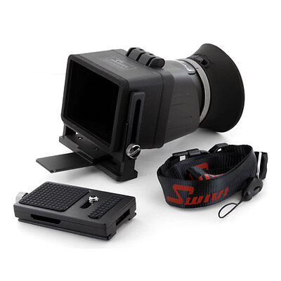 """GGS Swivi Foldable 3X Viewfinder II for 3"""" LCD screen HD DSLR Video Camera,fr US"""